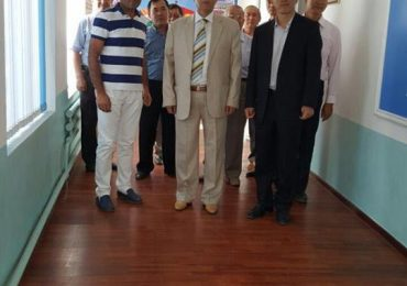 Delegations from China visited in jalal abad state university.
