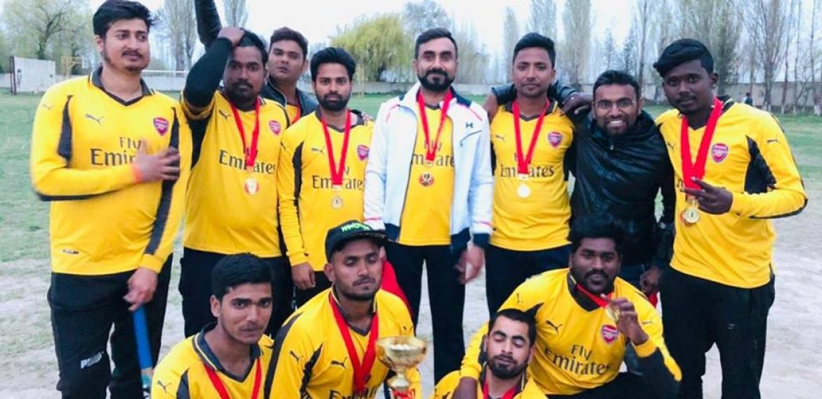 JALAL-ABAD NIGHT RIDERS WON THE TROPHY OF FINAL