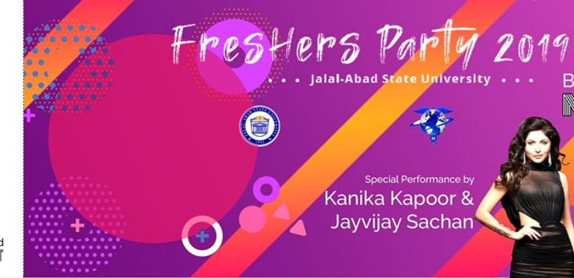 Be ready for the Fresher's Party 2019 at JASU with Kanika Kapoor's and Jayvijay Sachan stunning performance and unlimited fun