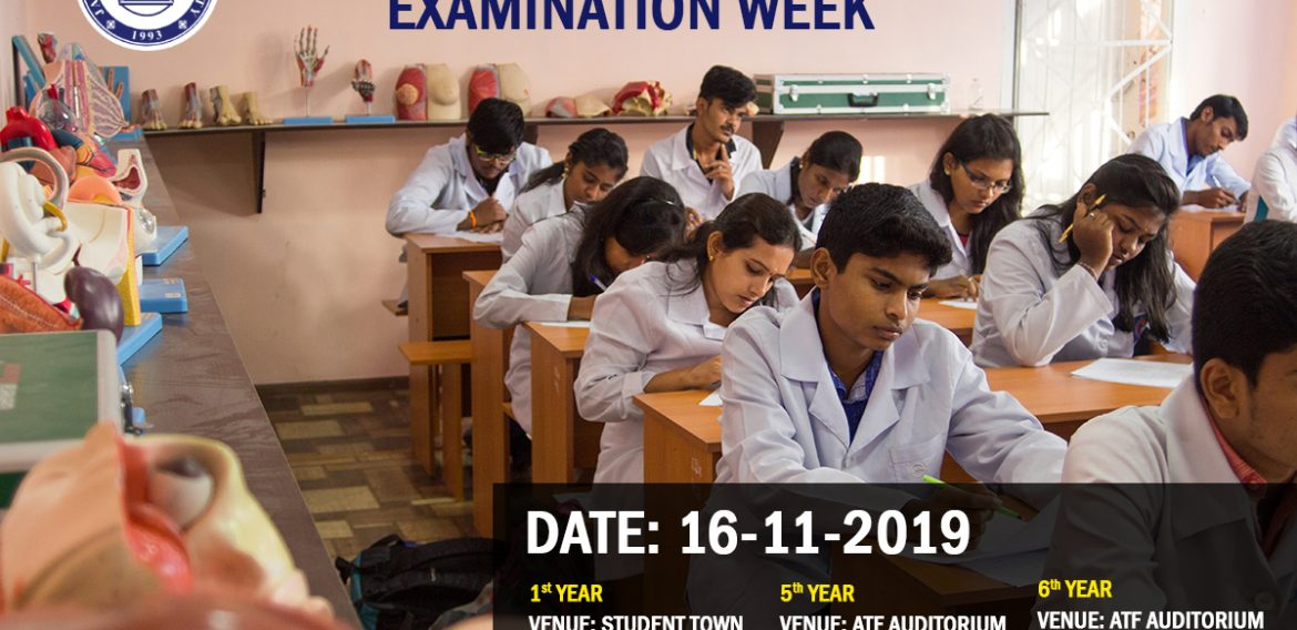 JASU EXAMINATION WEEK