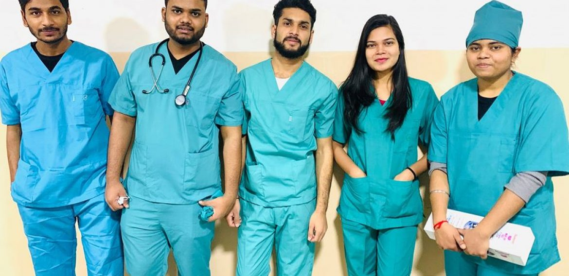 Hospital practice started for 2nd year students at College Hospital