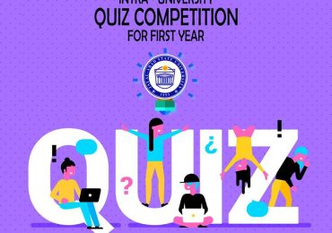 Quiz Competition at Intra University Level for the First Year Students