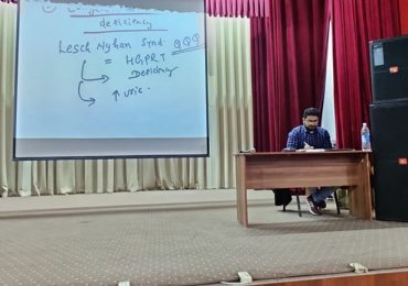 MCI class for 5th and 6th year at ATF auditorium subject internal medicine taken by Dr. Aman setiya