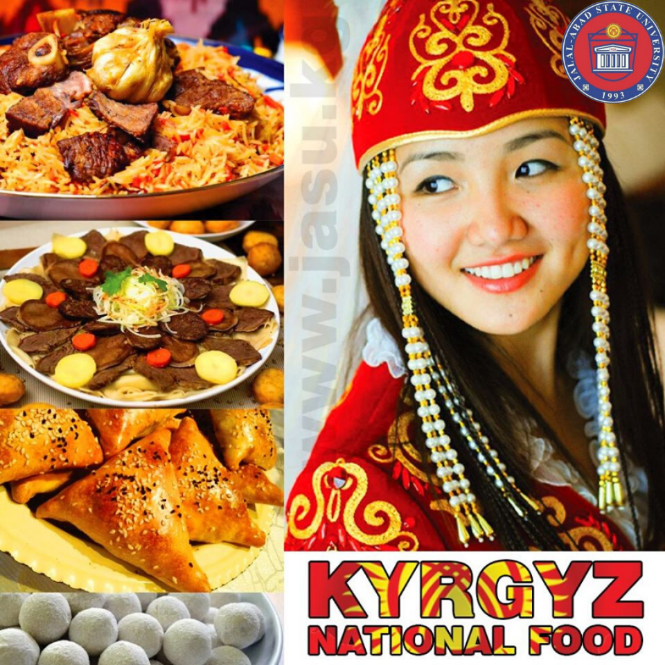 Kyrgyz cuisine is the cuisine of the Kyrgyz, who comprise a majority of the population of Kyrgyzstan. The cuisine is similar in many aspects to that of their neighbours.
