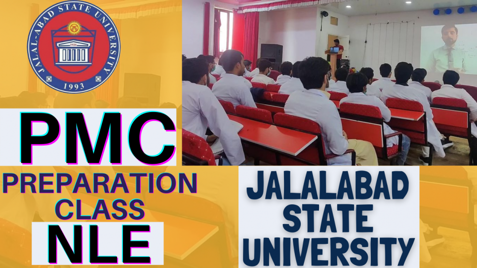 Jalal-Abad state university happily and proudly presents one of the best mind of Pakistan and the best motivator Dr. HAFIZ MUDESSAR to our beloved Pakistan students of our university from 1st year, for a dedicated PMC Preparation Class.